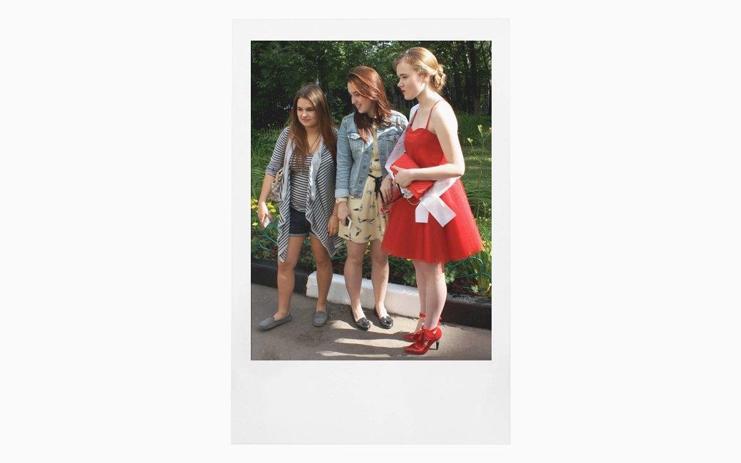 Вспомнить всё:  Девушки о своих  выпускных платьях. Изображение № 14.