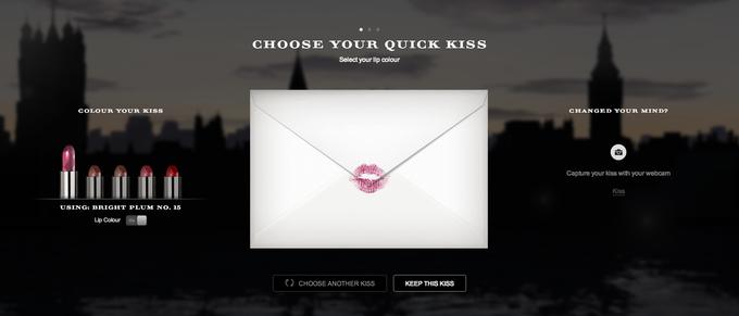 Burberry и Google помогают послать поцелуй. Изображение № 1.
