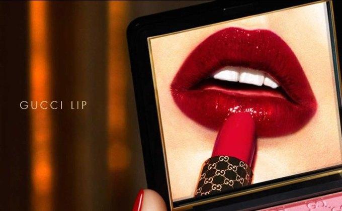 Внучка Грейс Келли снялась в рекламе косметики Gucci. Изображение № 4.