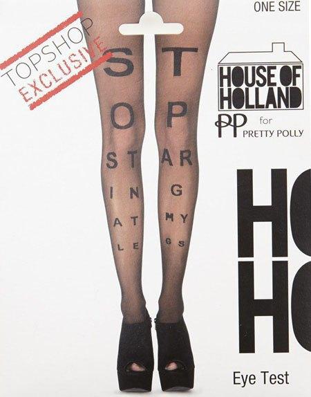 Генри Холланд создал колготки с принтами для Topshop. Изображение № 2.