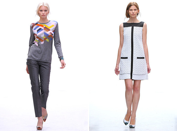 Показы на London Fashion Week SS 2012: День 4. Изображение № 3.