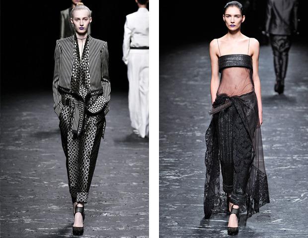 Парижская неделя моды: показы Haider Ackermann, Viktor&Rolf, Vivienne Westwood, Junya Watanabe и CDG. Изображение № 13.