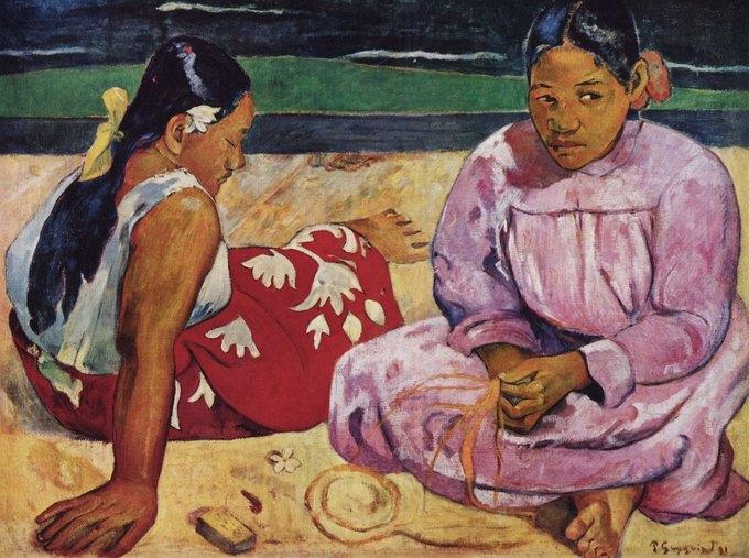Найдены редчайшие фотографии Поля Гогена  на Таити. Изображение № 1.