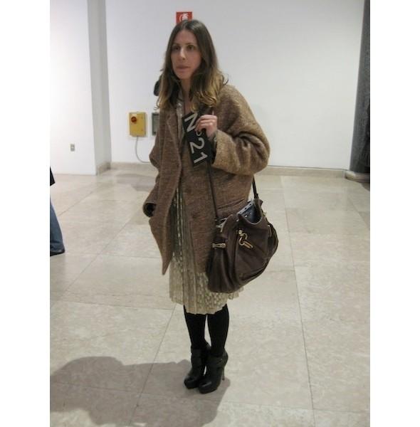 Изображение 12. Milan Fashion Week: день первый — луки.. Изображение № 8.