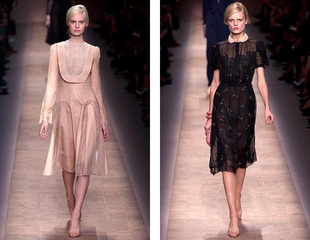 Парижская неделя моды: Показы Chanel, Valentino, Alexander McQueen и Paco Rabanne. Изображение № 13.