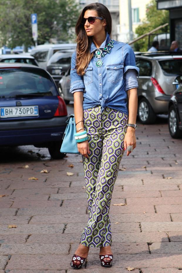 Streetstyle: Неделя моды в Милане. Изображение № 17.