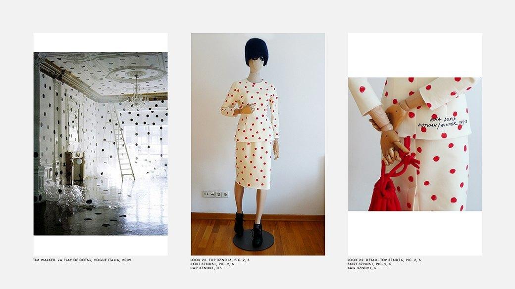 Новый лукбук Nina Donis: Лаконичные силуэты и принт в горошек. Изображение № 21.