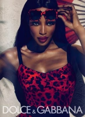 Наоми Кэмпбелл в рекламной кампании Dolce & Gabbana Eyewear SS 2011. Изображение № 50.