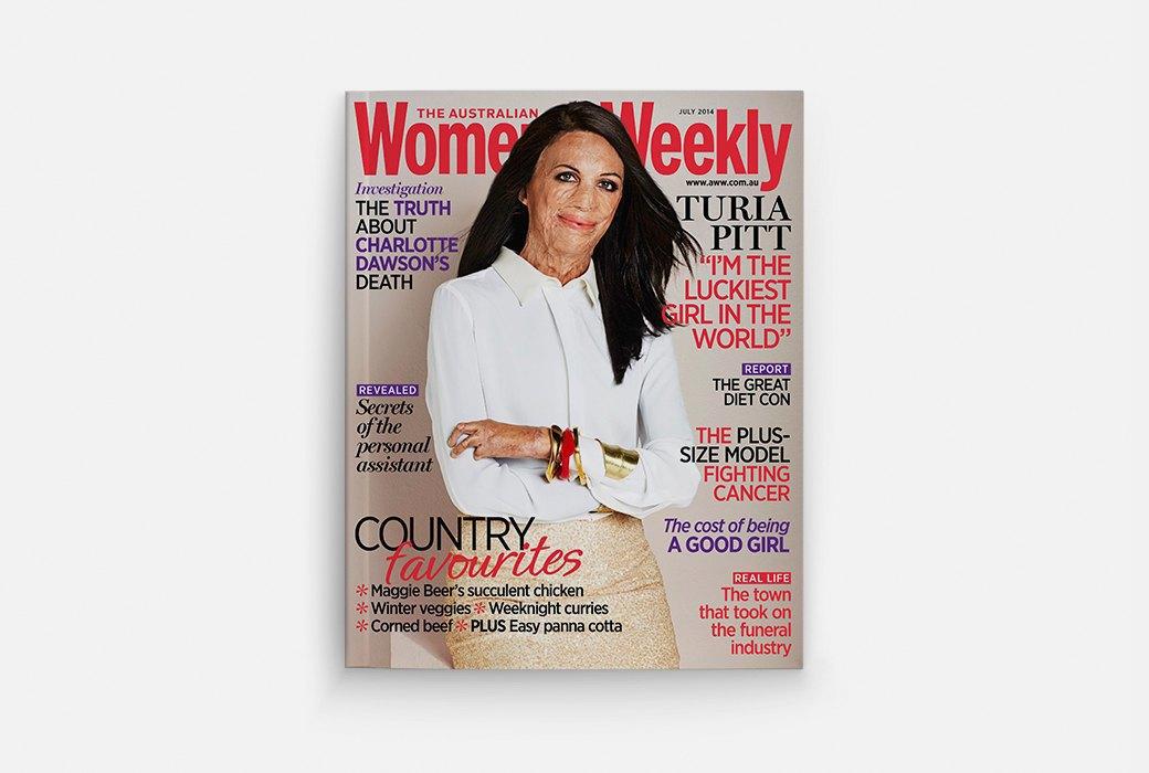 Самые важные «женские» обложки журналов  за 2014 год. Изображение № 2.