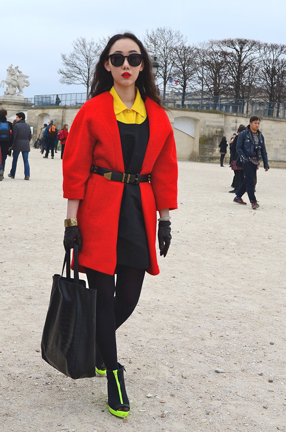 Неделя моды в Париже: Streetstyle. Изображение № 18.