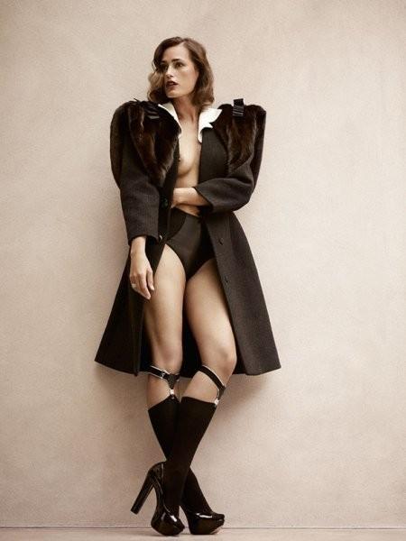 Ясмин Ле Бон в съёмке L'Officiel, октябрь 2011. Изображение № 34.