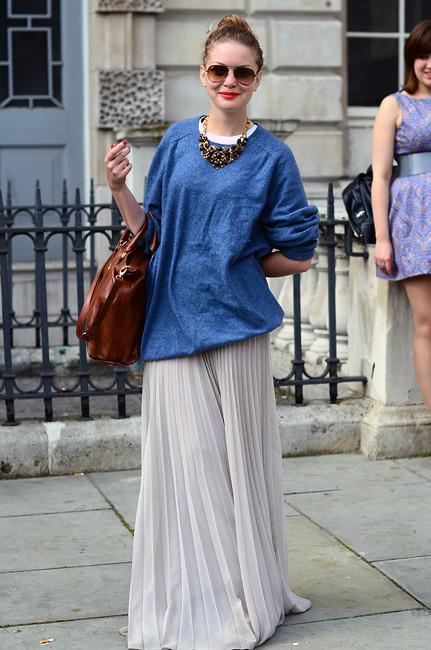 London Fashion Week: Уличный стиль, часть 1. Изображение № 16.