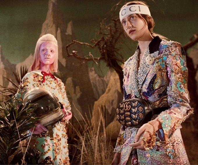 В новой кампании Gucci снялись пришельцы  и динозавры. Изображение № 26.