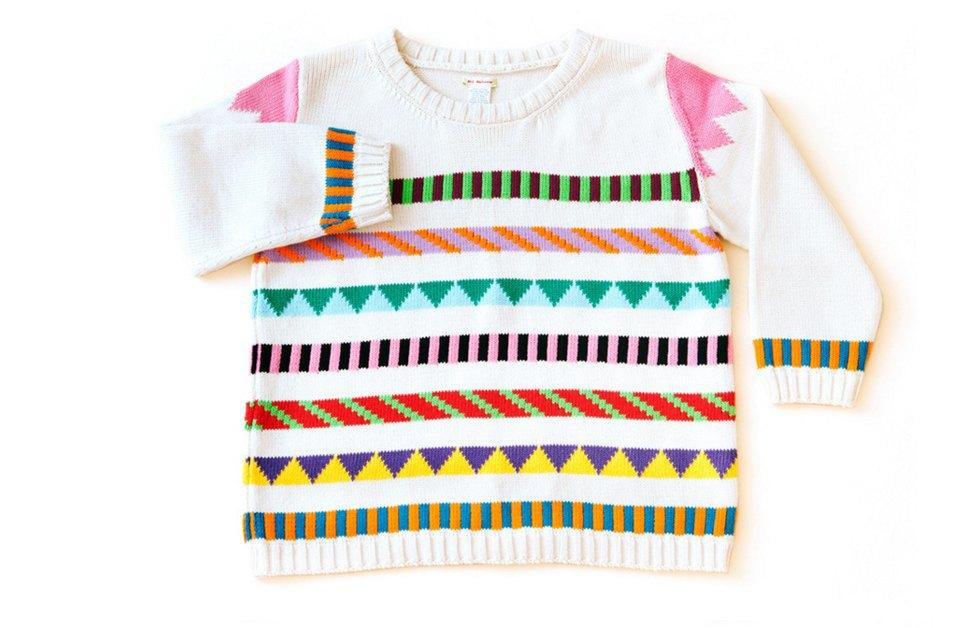 Теплые свитеры ALL Knitwear с геометричным узором. Изображение № 5.