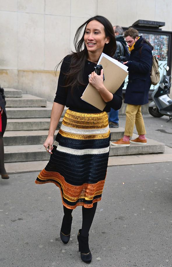Неделя моды в Париже: Streetstyle. Изображение № 40.