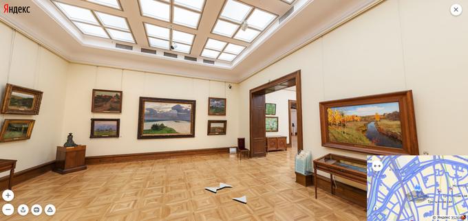 На «Яндекс.Картах» появились панорамы всех залов Третьяковки. Изображение № 4.