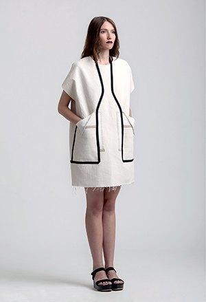 Геометричные платья и прозрачные сумки Ksenia Gerts. Изображение № 5.