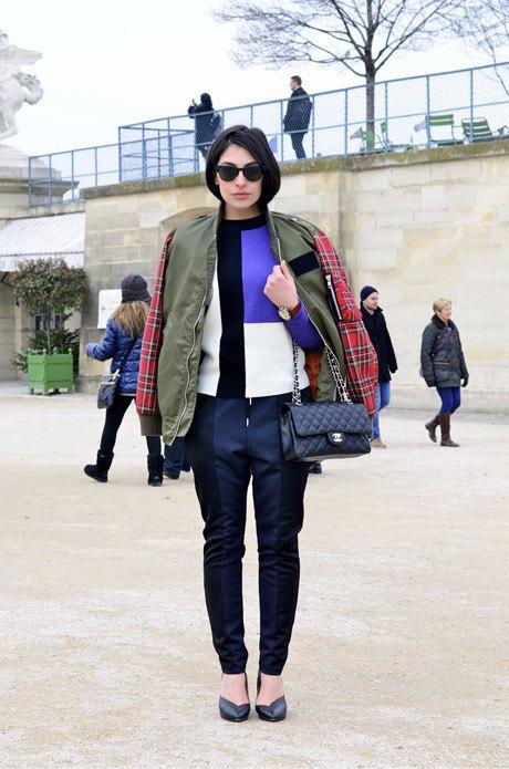 Гости Парижской недели моды FW13, часть 1. Изображение № 11.