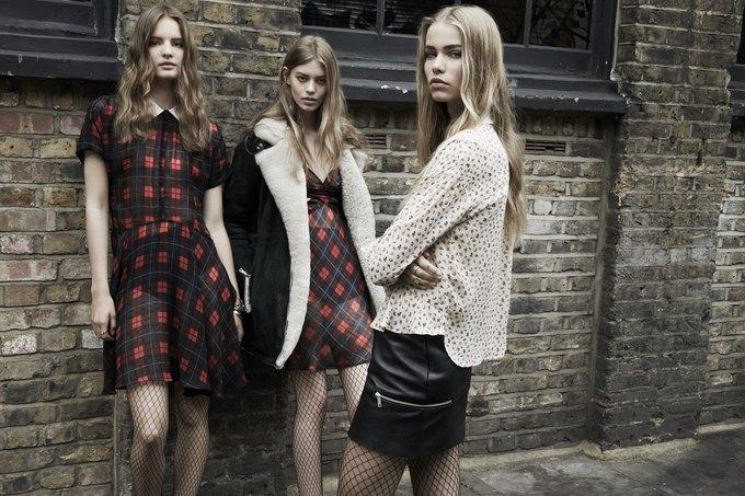 Модели на улицах Лондона в новой кампании Zara. Изображение № 19.