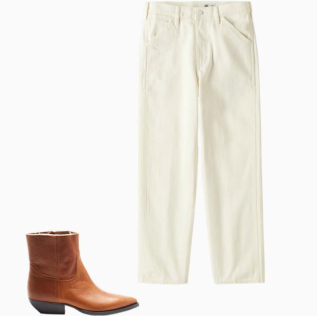 Комбо: Широкие брюки с казаками. Изображение № 3.