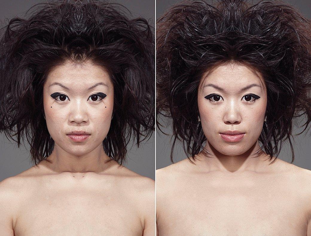 «Симметричные портреты»:  Два человека в одном. Изображение № 13.