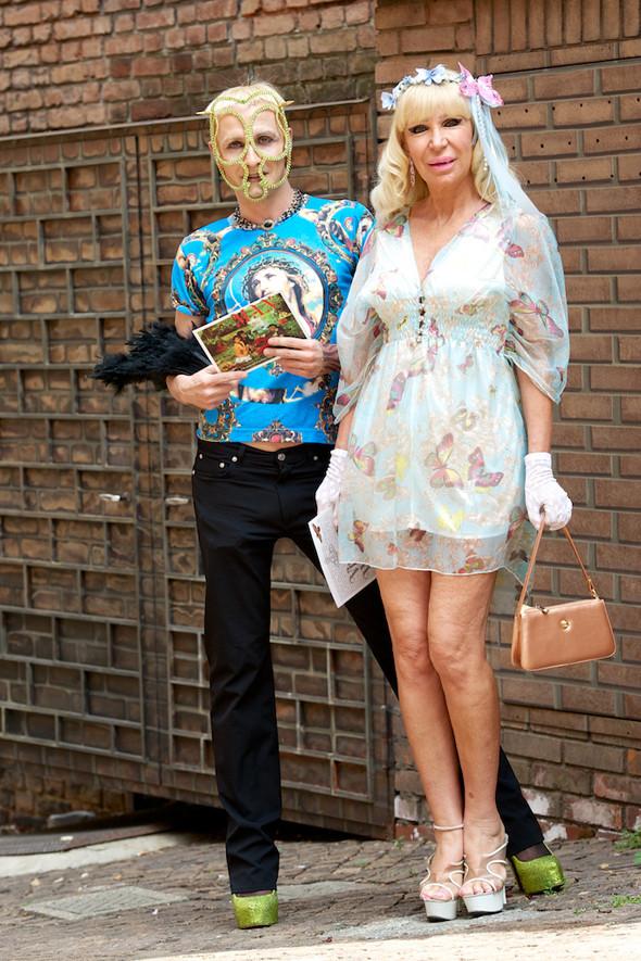 Стрит-стайл: Неделя мужской моды в Милане. Изображение № 20.