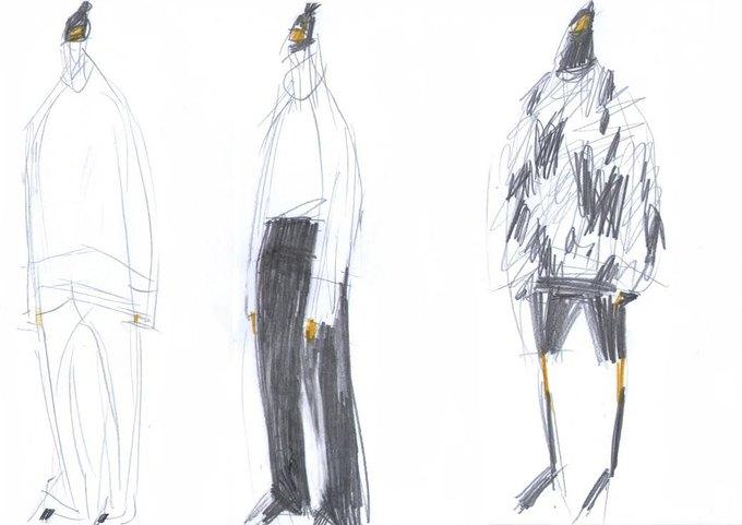 Nina Donis показали мудборд и эскизы новой коллекции. Изображение № 4.