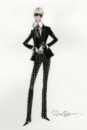 Mattel выпустят Барби  в честь Карла Лагерфельда. Изображение № 1.
