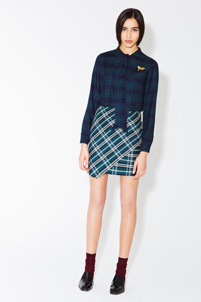 Пальто-коконы и миди-юбки в новой коллекции I am. Изображение № 9.