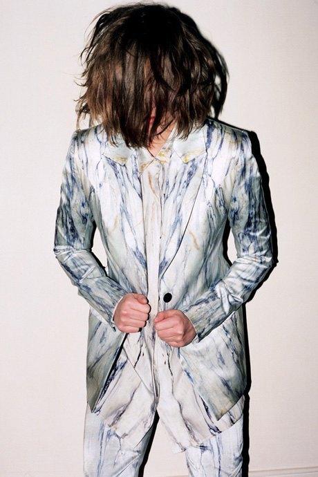 Мятные костюмы  и бархатные платья Trager Delaney. Изображение № 2.