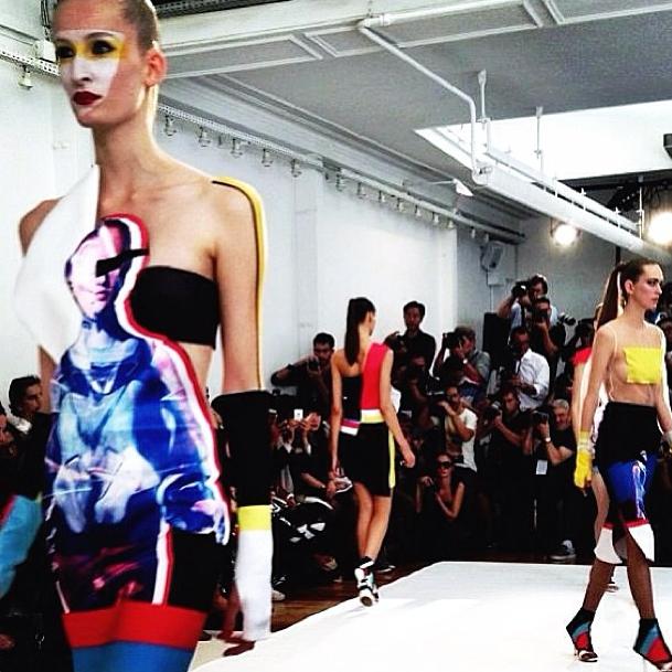 Прямой репортаж  с Paris Fashion Week:  День 1. Изображение № 25.