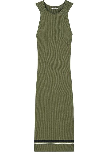 Трикотажные платья в рубчик: От простых до роскошных. Изображение № 6.