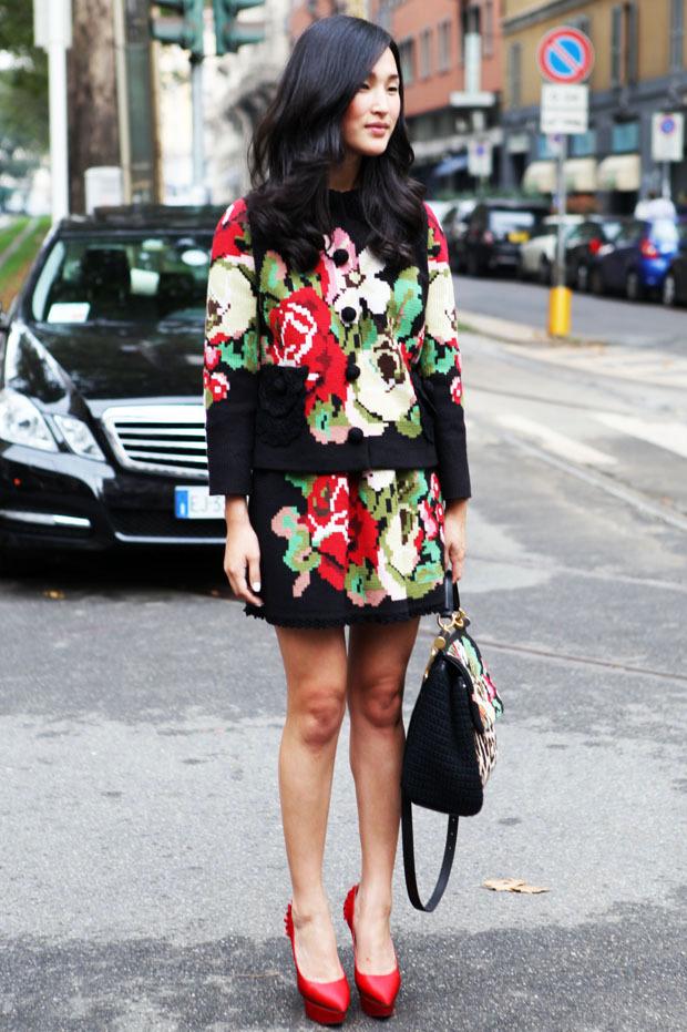 Streetstyle: Неделя моды в Милане. Изображение № 24.
