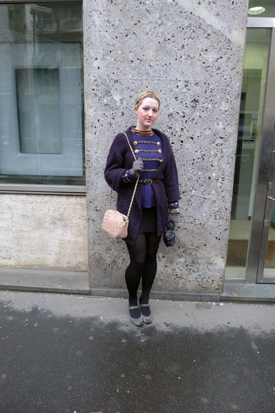 Изображение 8. Milan Fashion Week: день пятый – луки.. Изображение № 8.