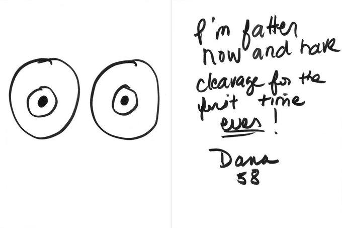 «Я поправилась, и теперь у меня впервые выдающаяся зона декольте!» — Дана, 58. Изображение № 24.