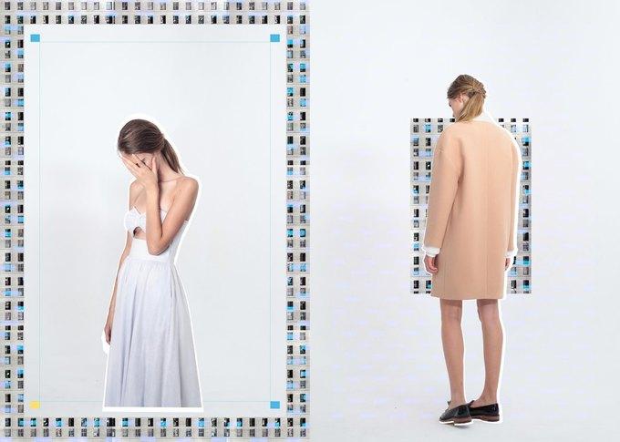 Объемные пальто в новой коллекции Luda Nikishina. Изображение № 3.