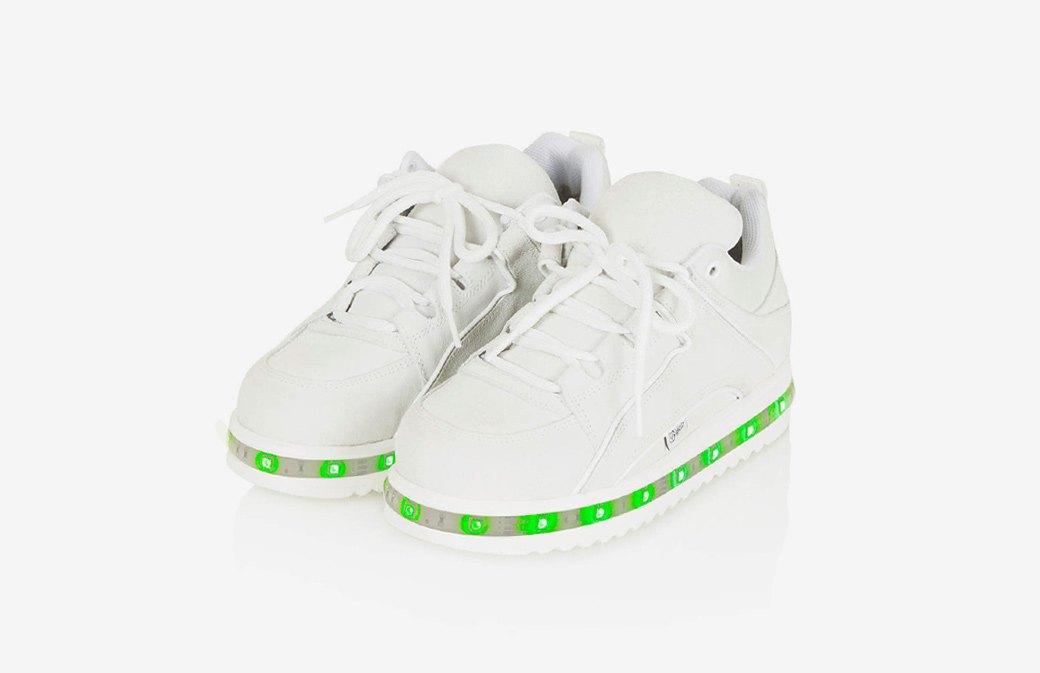 Кроссовки на светодиодной платформе Ashish x Topshop . Изображение № 1.