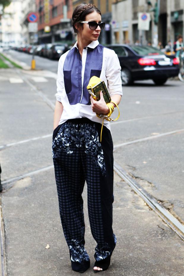 Streetstyle: Неделя моды в Милане. Изображение № 34.