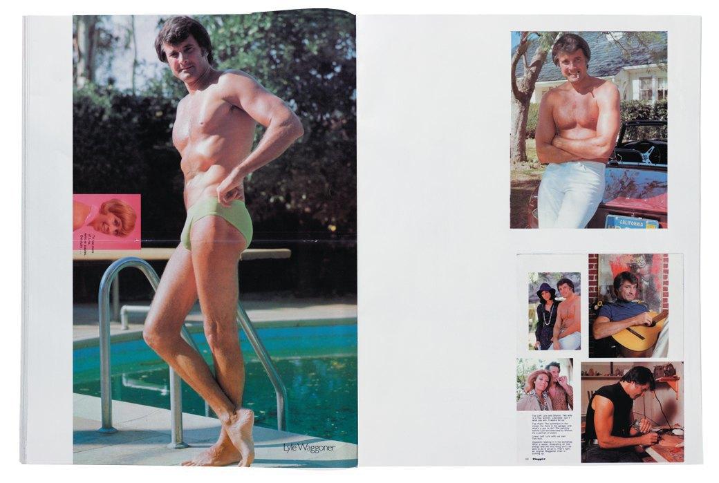 Разворот журнала Playgirl  за 1973 год. Изображение № 4.