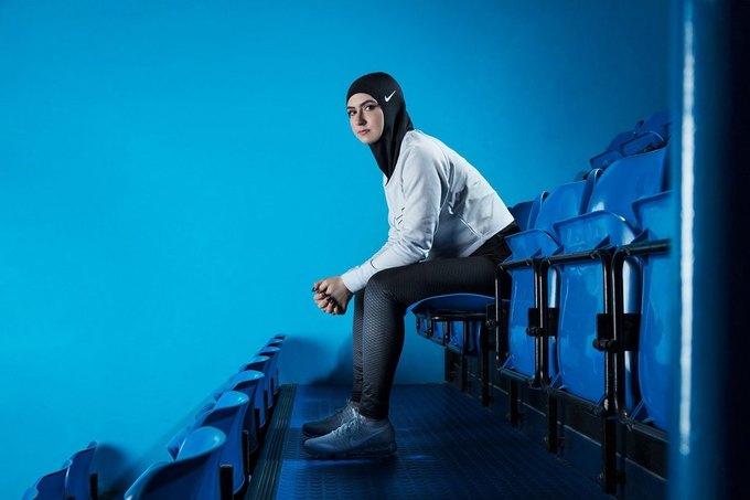 Nike выпустят хиджаб  для тренировок. Изображение № 2.