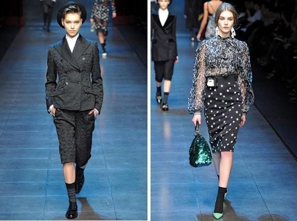 Изображение 1. Показы на Milan Fashion Week FW 2011: день 5.. Изображение № 6.