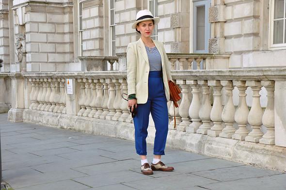 London Fashion Week: Уличный стиль, часть 3. Изображение № 8.