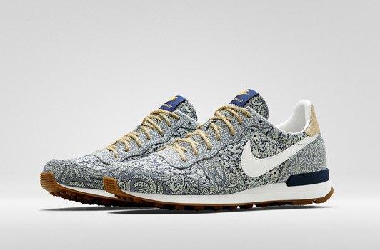 Универмаг Liberty переосмыслил  кроссовки Nike. Изображение № 1.