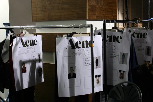 London Fashion Week: бэкстейдж показа Acne. Изображение № 19.