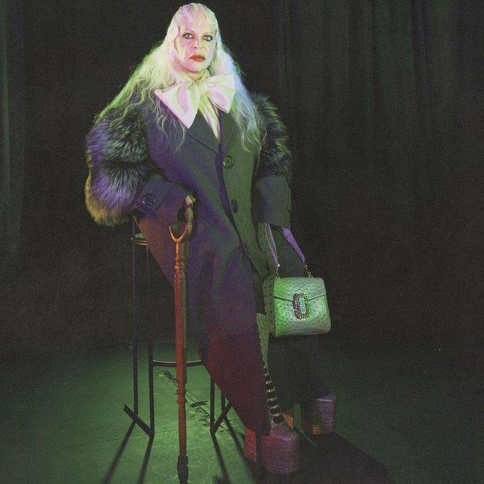 Дженезис Пи-Орридж снялся в рекламной кампании Marc Jacobs. Изображение № 1.