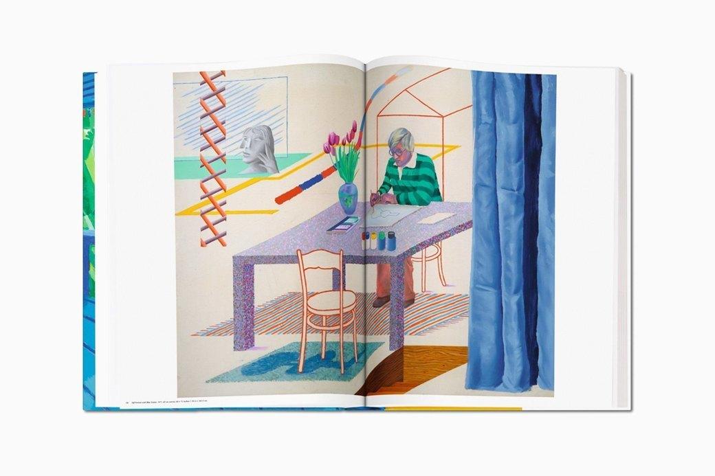 Гигантский альбом Taschen с работами Дэвида Хокни. Изображение № 6.