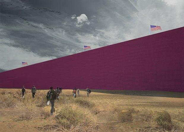 Мексиканская студия визуализировала «Стену Трампа» . Изображение № 5.