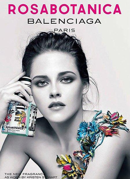 Кристен Стюарт расцвела в рекламе Balenciaga. Изображение № 1.