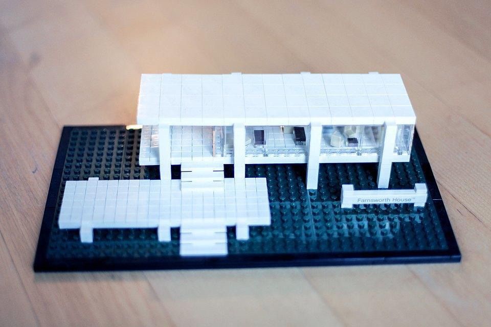 Farnsworth House Lego —  подарок друзей . Изображение № 16.
