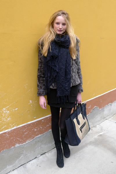 Изображение 5. Milan Fashion Week: день пятый – луки.. Изображение № 5.